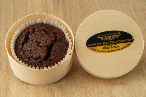 Mister Moelleux Fondant au Chocolat (Dans son coffret en bois, 100% Biodégradable, conçu pour le four, micro-ondes, congélateur et réutilisable)
