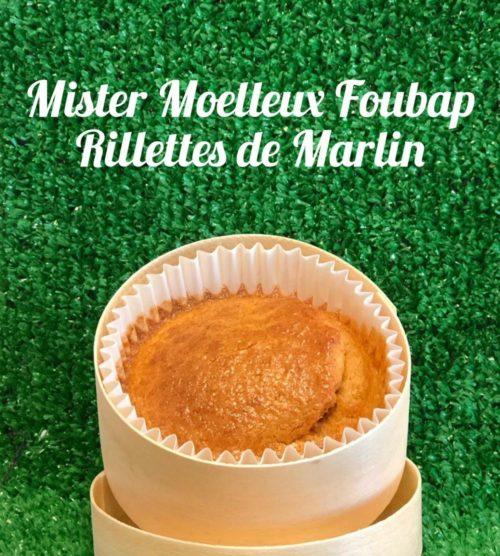 Mister Moelleux Foubap Salé Rillettes de Marlin (Avec coffret)