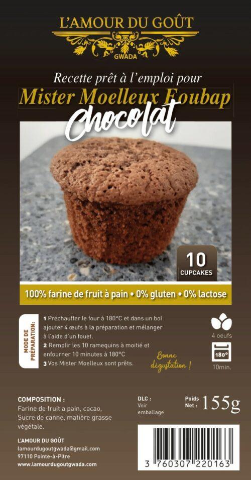 Mister Moelleux Foubap Chocolat (La Recette – 10 personnes)