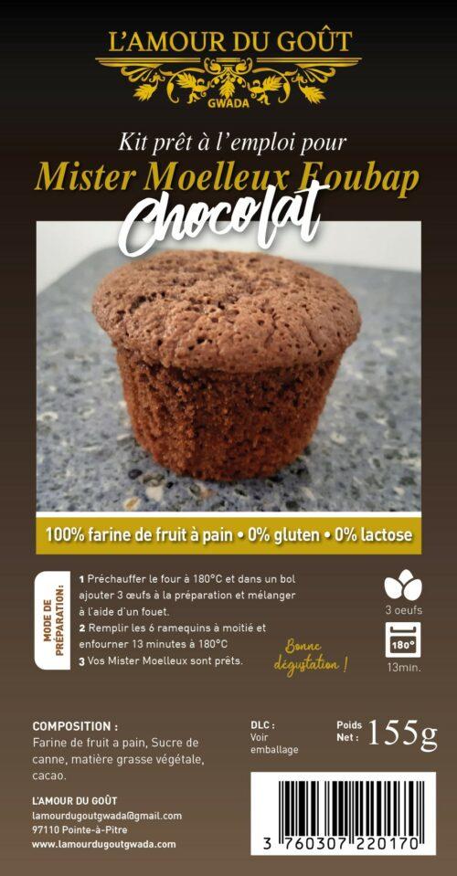 Le Kit Mister Moelleux Foubap Chocolat (Avec ramequins)