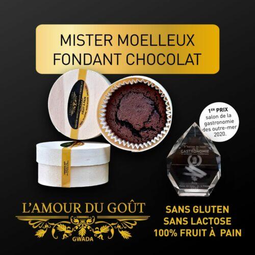 Mister Moelleux Fondant au Chocolat