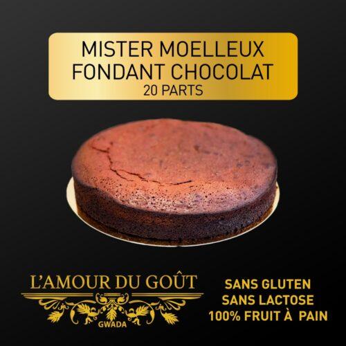 Mister Moelleux Fondant au Chocolat – 20 parts
