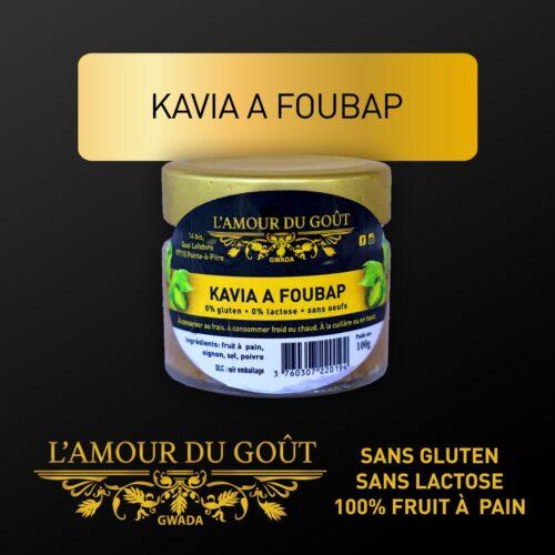 Kavia a Foubap (à la cuillère ou en toast)